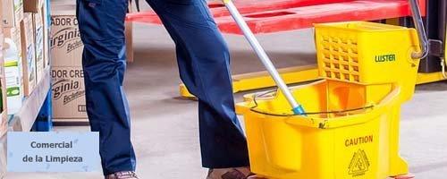 comercial de la limpieza destacado